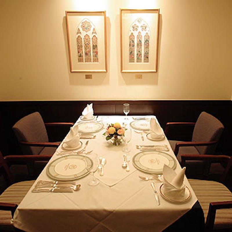 【menuC】フォワグラや国産牛、オマール等豪華食材の全5皿+選べる1ドリンク+カフェフリー