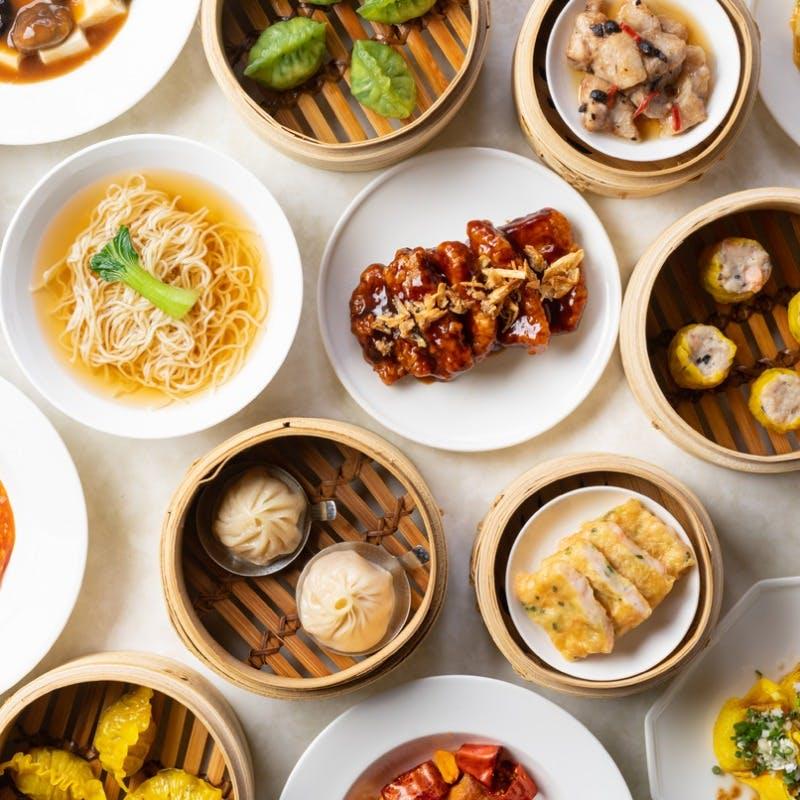 【飲茶オーダーブッフェ】 前菜やスープ、北京ダックと自慢の点心