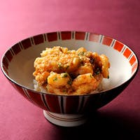ホテルオークラ神戸の伝統の一品 「かき揚げ天丼」