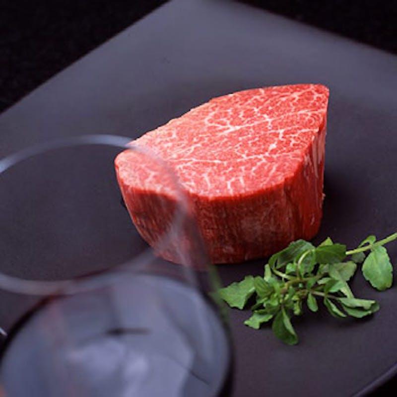 【梓~AZUSA】前菜3種、黒毛和牛フィレorサーロインなど全7品
