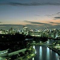 大阪城公園を一望できる絶好のロケーション