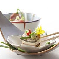 四季を表現する日本料理