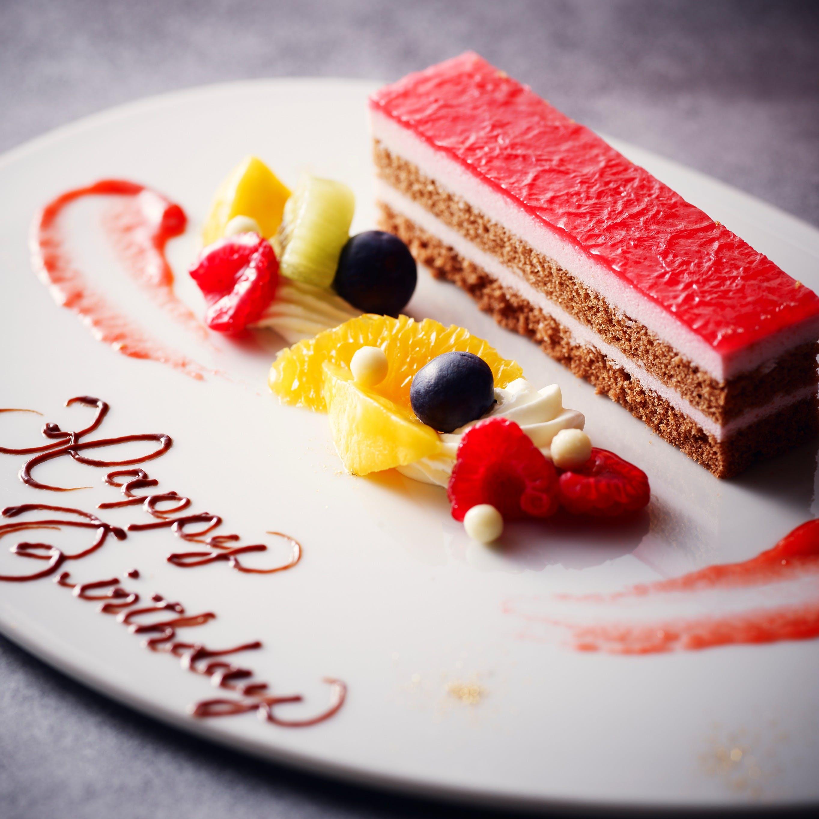 アニバーサリーケーキ(カットケーキ1プレート)