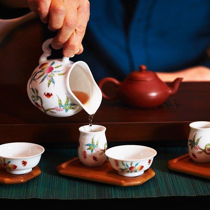 高級評茶員セレクトの豊富な中国茶の数々
