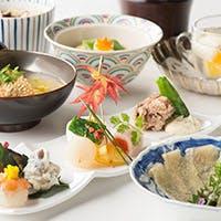厳選食材を用いた、京風会席とオリジナル商品