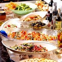 イタリア料理を中心とした地中海料理をご用意