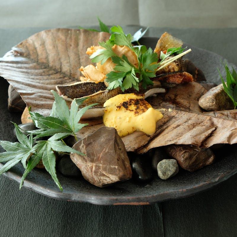【ランチC】前菜4品、Wメイン、野菜料理含む全9品