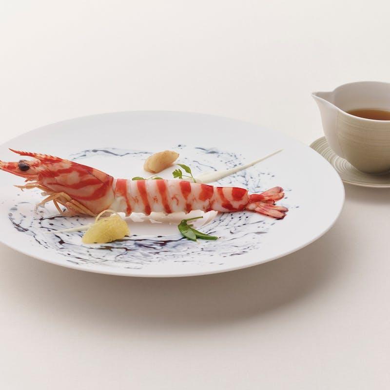 【ランチ'A'メニュー】特別料理含むフルコース全8品