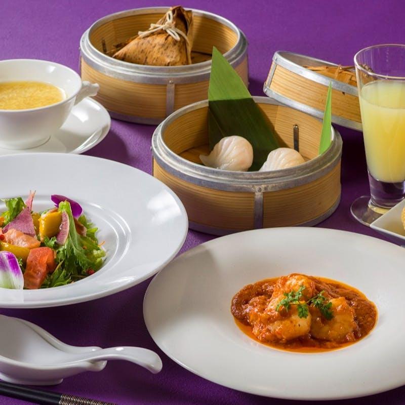 【セレクトランチ】メイン・飲茶・麺飯料理などお好きなメニューをチョイス 全7品