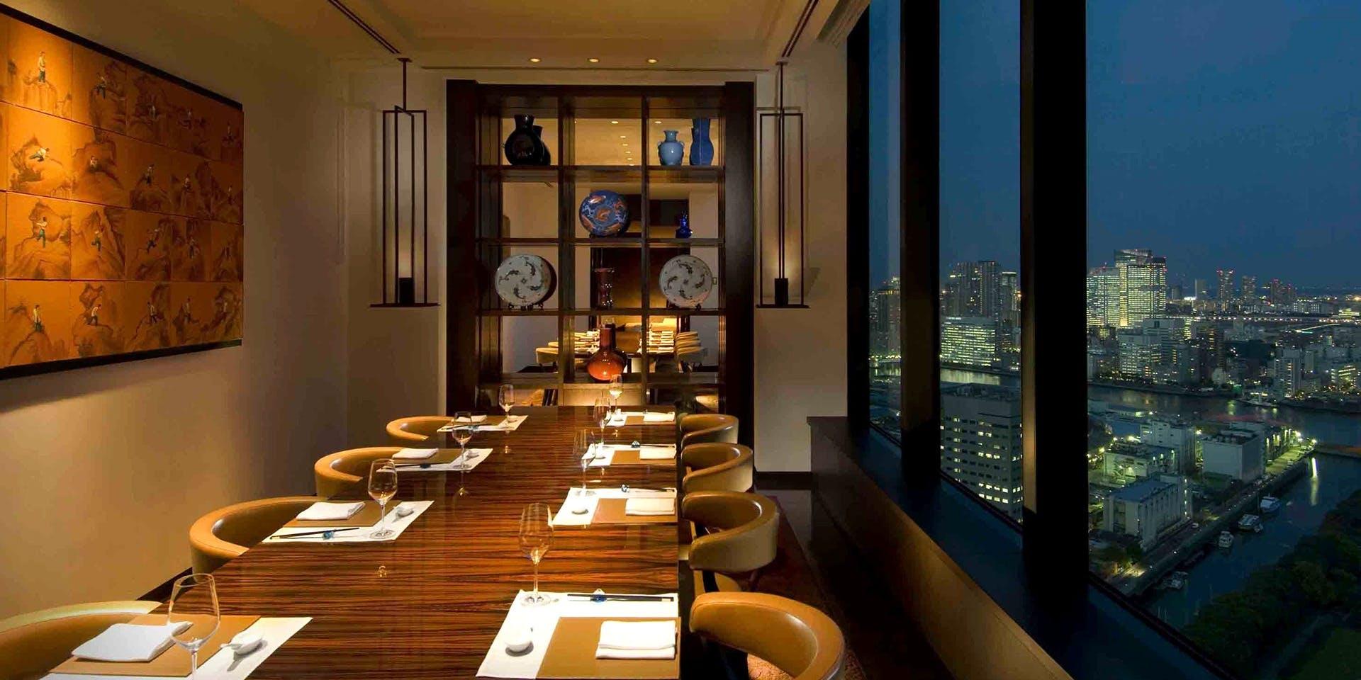 記念日におすすめのレストラン・チャイナブルー/コンラッド東京の写真2