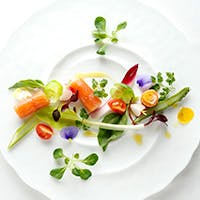 上質な食材を生かした、彩り豊かな料理の数々