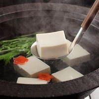 料理長おすすめの湯豆腐