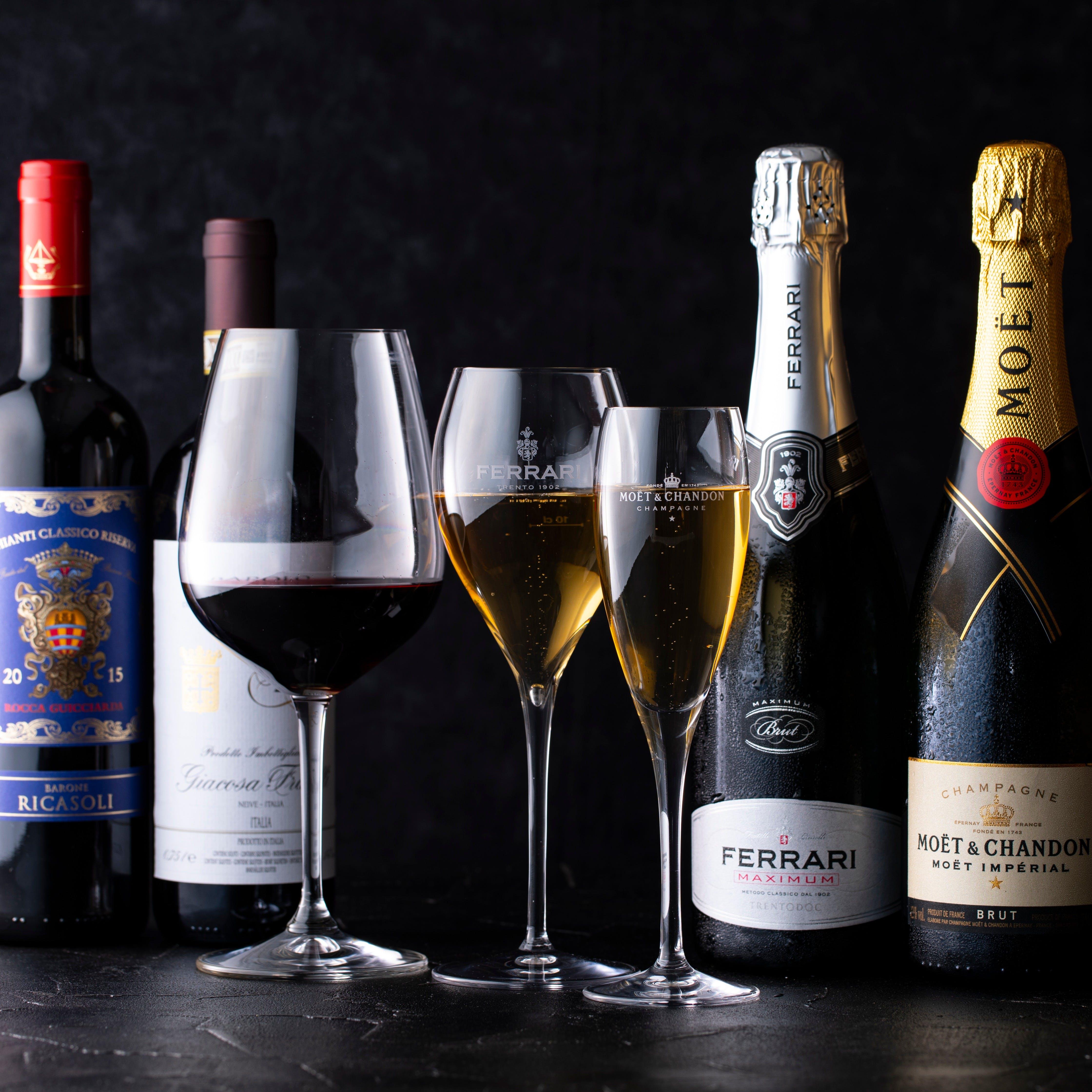 ソムリエが厳選したおすすめワインとのマリアージュ