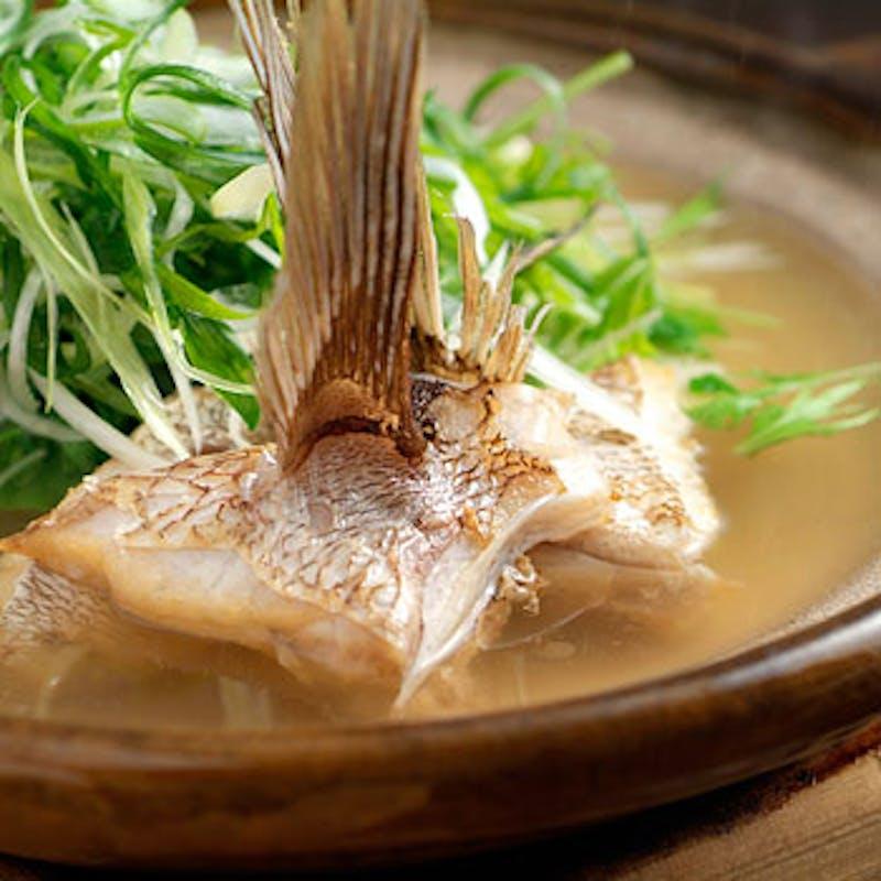 【鯛柚子鍋懐石(柚子雑炊付)】全7品