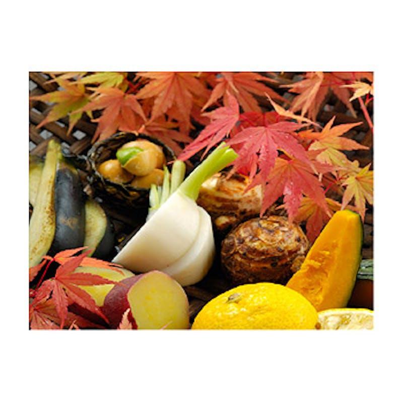 【季節の柚子鍋懐石(柚子雑炊付)】全7品