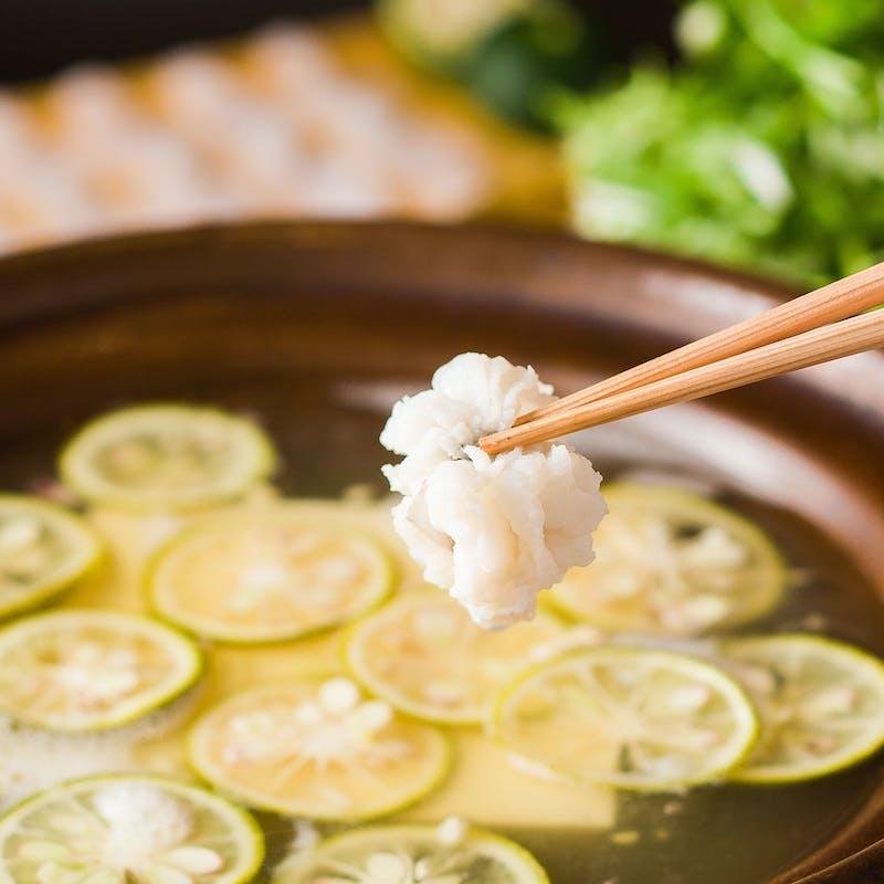 【季節限定】鱧鍋懐石
