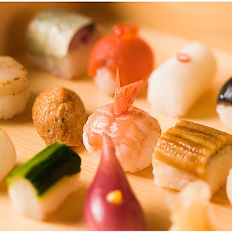 【豆すし懐石】一休限定1ドリンク付、自慢の豆すしと旬の食材を使用した懐石料理全7品