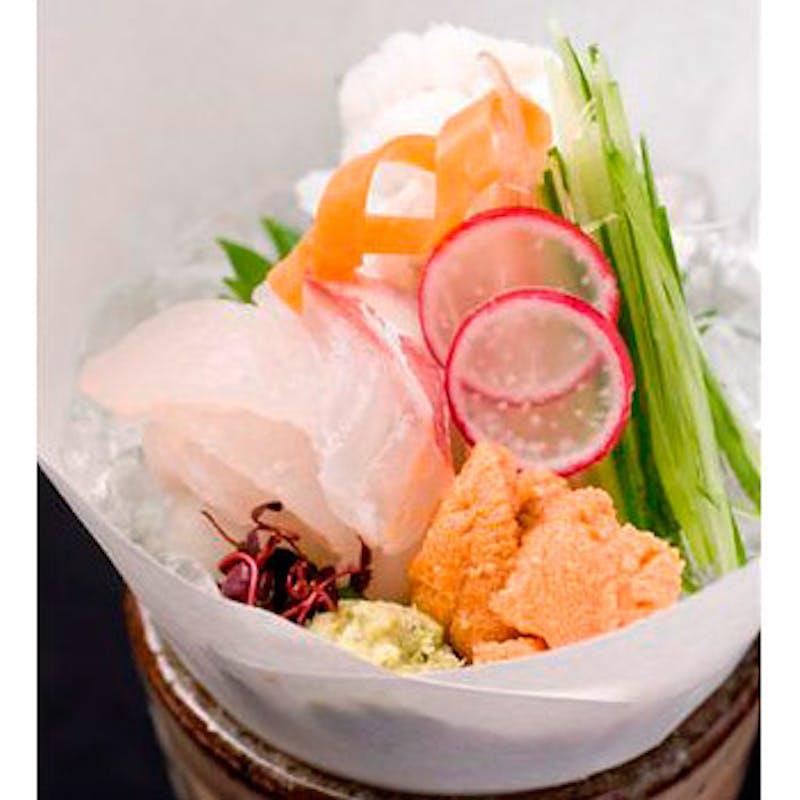 【花コース】季節のお造り、焼物、鉢物、水物など全8品