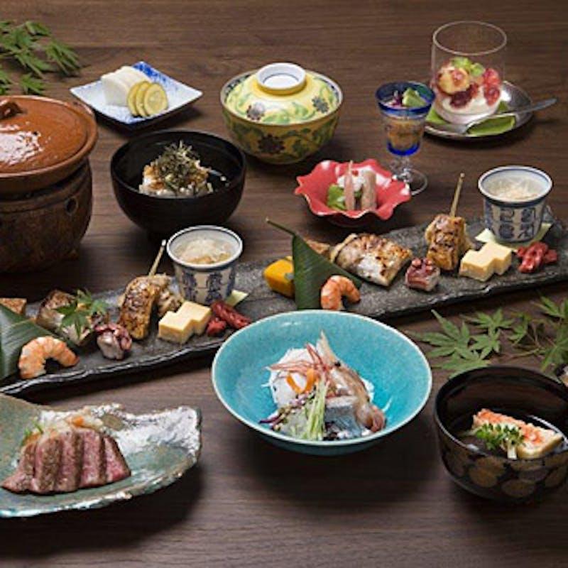 【月コース】京都産和牛ステーキなど全9品のディナー