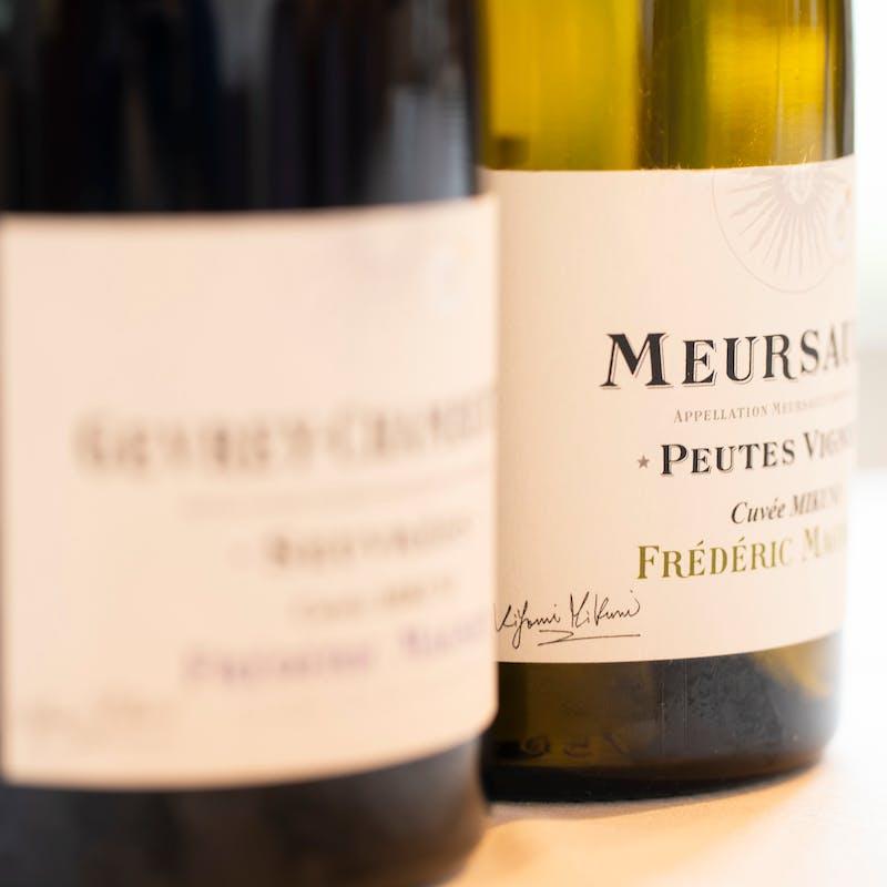 【シェフ三國清三による月替わりのコース】全6品+シャンパン+白ワイン+赤ワイン