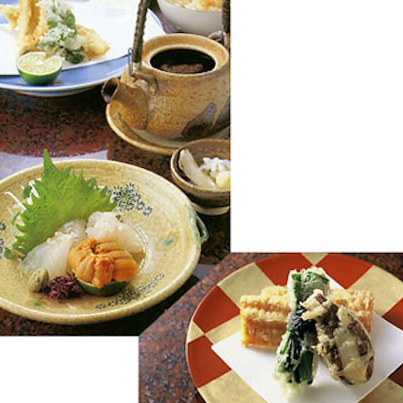 【祇園コース】おまかせ天ぷら14品など+1ドリンク(個室確約)