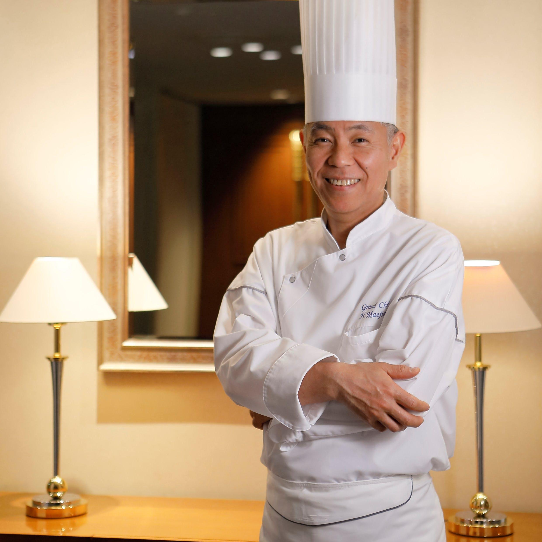 フランス料理の伝統と、「ロワール」の伝統を紡ぐ総料理長を務める前島浩行