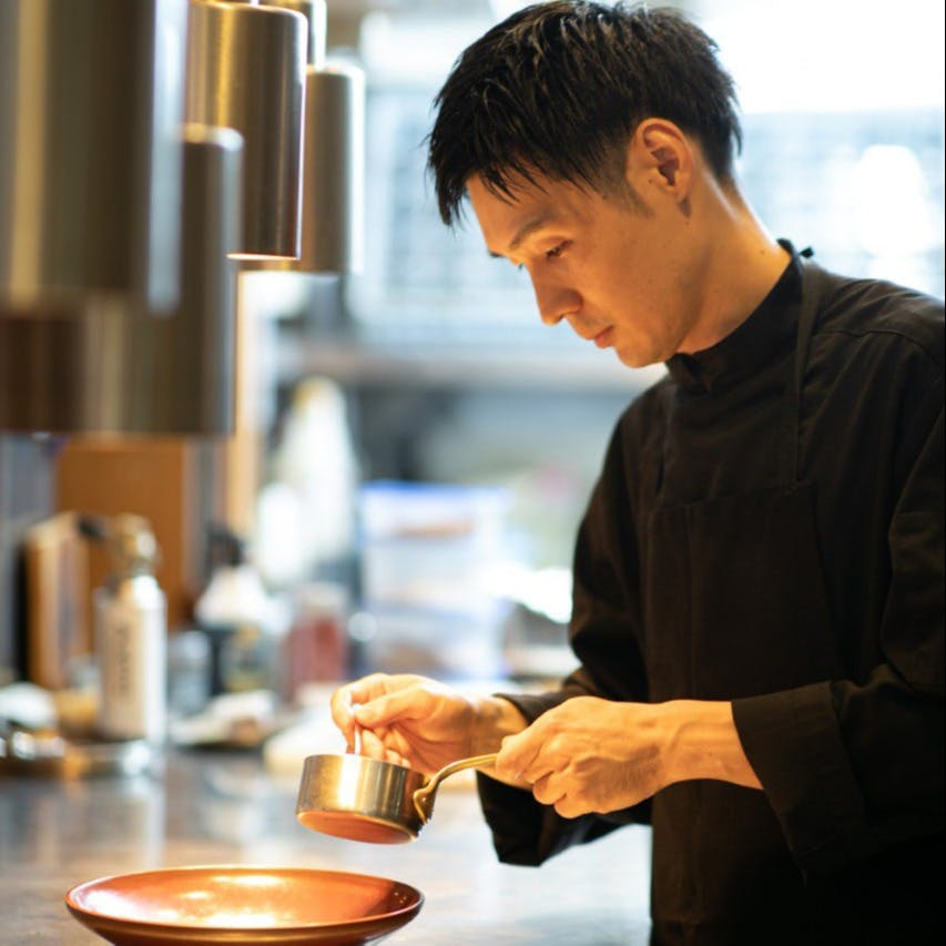 Chef 小柳 優好 Masayoshi Koyanagi