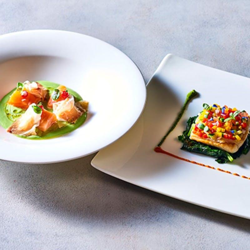 【Cielo全6品】北海道の食材をお楽しみいただけるカジュアルディナーコース