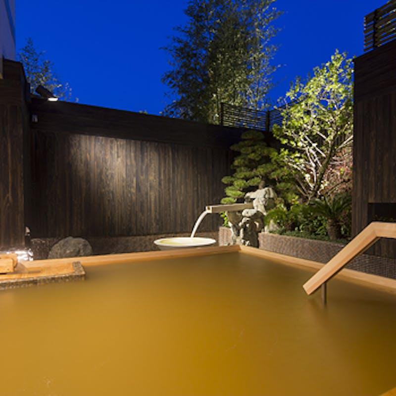 【神戸牛ディナー】神戸牛をご堪能頂ける全6品  +選べる1ドリンク+源泉かけ流し温泉付