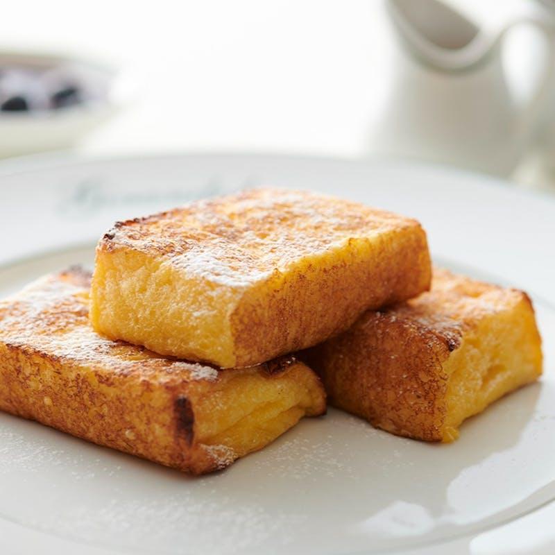 ブランチコース(前菜、フレンチトースト、コーヒー)+ウェルカムドリンク