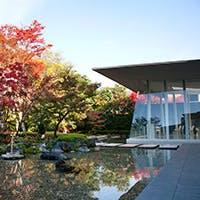 日本庭園を備えるデザイナーズ空間