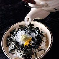 日本五大銘飯「忠七めし」と地元有機野菜を使った会席料理