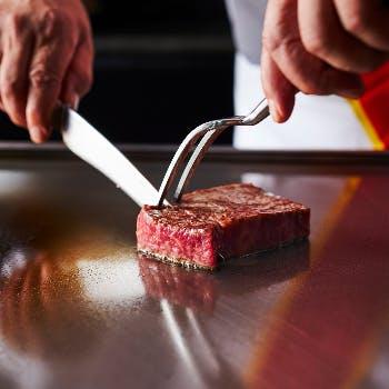 【13時半入店限定】乾杯酒付!牛フィレのステーキや魚介の焼き物など!カジュアルに愉しむ織姫星ランチ