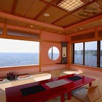 日本海を一望できる絶景絶佳の宿