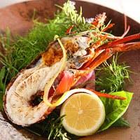 地元兵庫の食材を中心に、日本料理の手法をベースにした創造性あふれるメニューたち