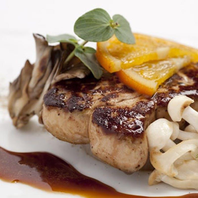 【スペシャルランチ】国産牛フィレ肉(120g)、フォアグラなど全7品+乾杯スパークリング