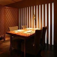 伊勢神宮の茶室をイメージした洗練された空間です