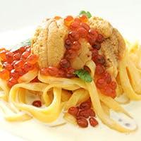 魚卵×イタリアン 和×洋 遊びある食は繊細かつ大胆にあなたを魅了します