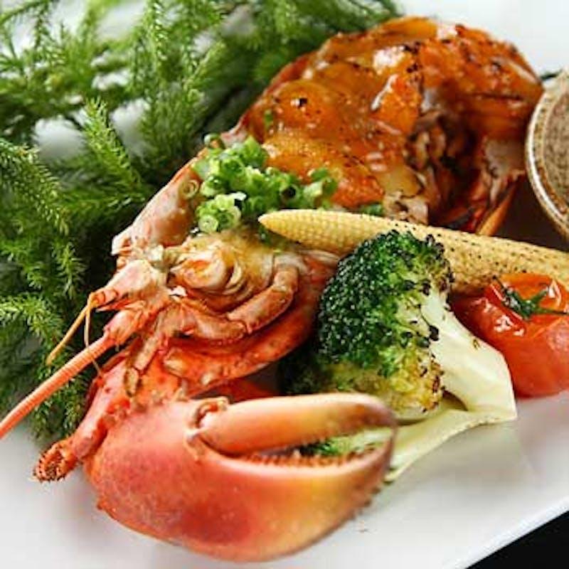 【GoToプラン】鮮魚・旬天ぷら・伊勢海老雲丹焼・A5和牛・鯛めし 全9品+2時間飲み放題(個室選択可)