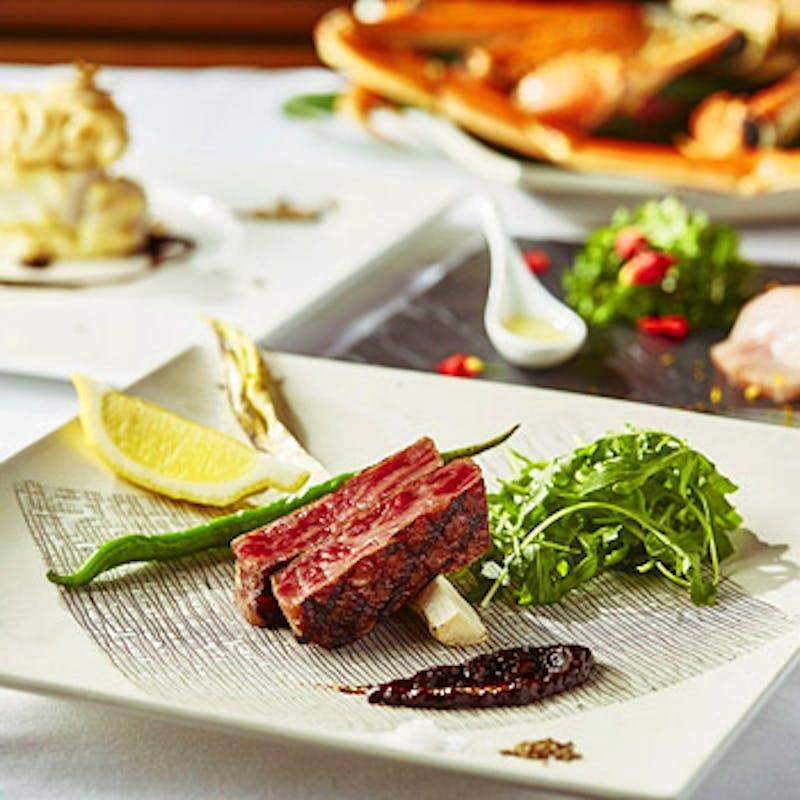 【Salvatore Course】おすすめ肉料理&鮮魚のグリルを盛合せで味わう全6品+選べる1ドリンク