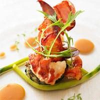 パリを中心とするイル・ド・フランスの伝統とモダンが調和する、大胆かつ繊細なひと皿