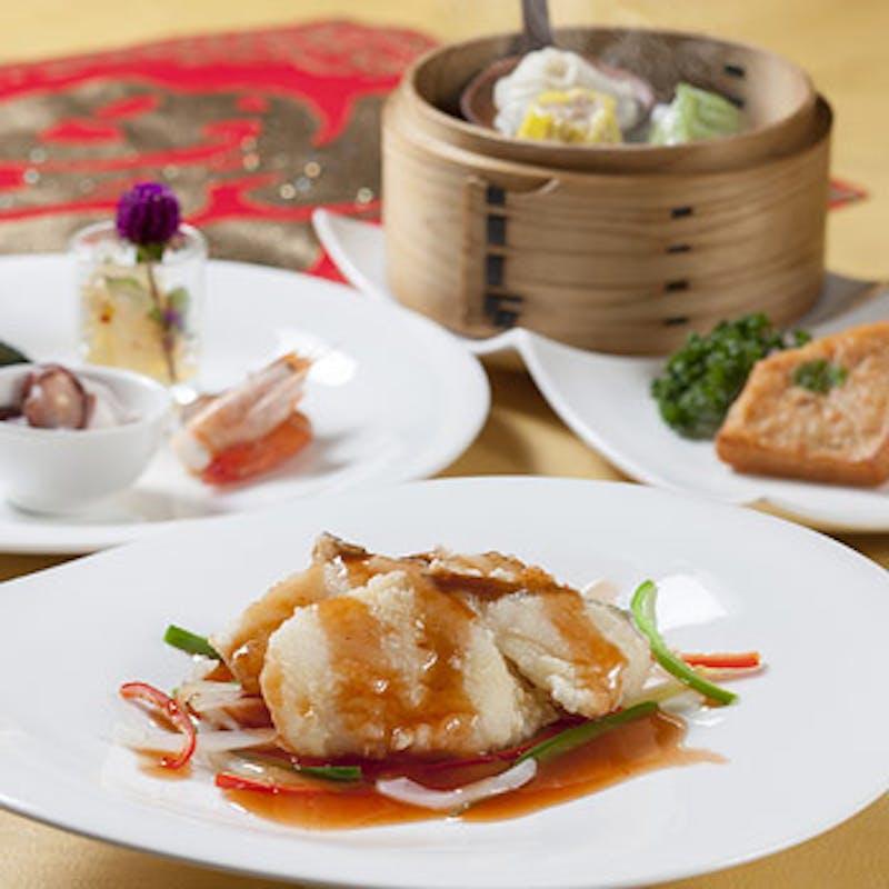 【宮廷ランチ】前菜からデザートまで全7品(時間限定)
