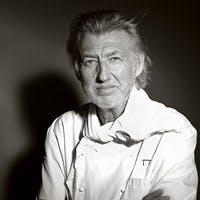 「厨房のピカソ」の異名をとるガニェール氏ならではの独創的で芸術性の高い料理