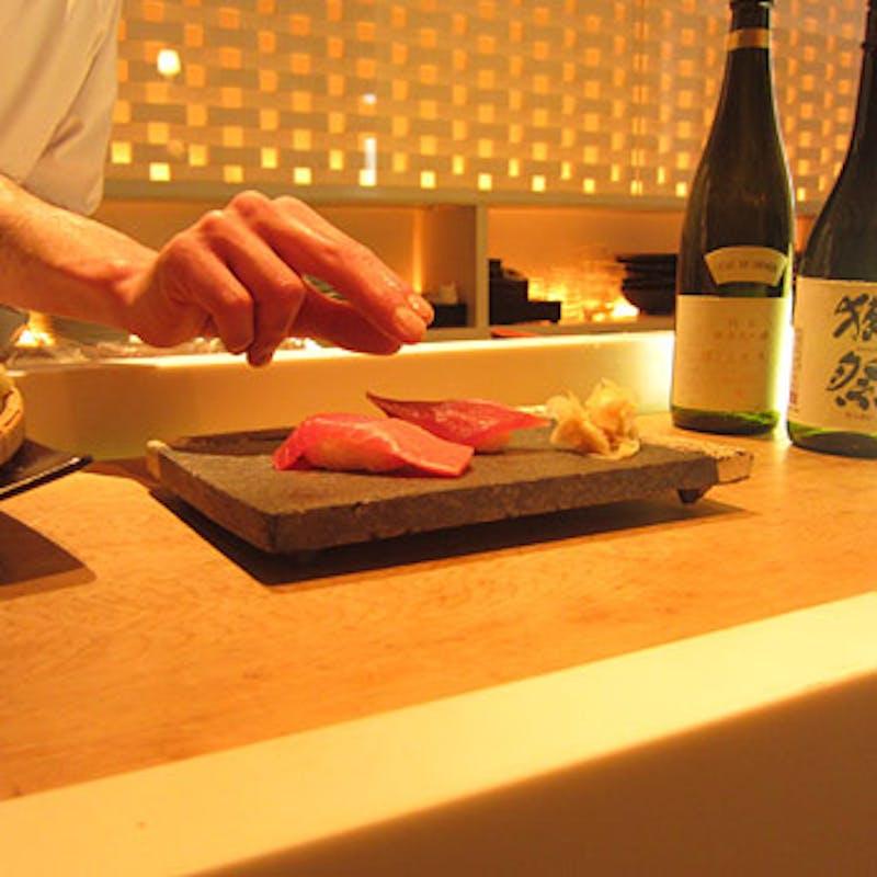 <和食>【ネット予約限定】豪華!前菜盛・阿波黒牛フィレすき焼き仕立・寿司など全7品!+1ドリンク