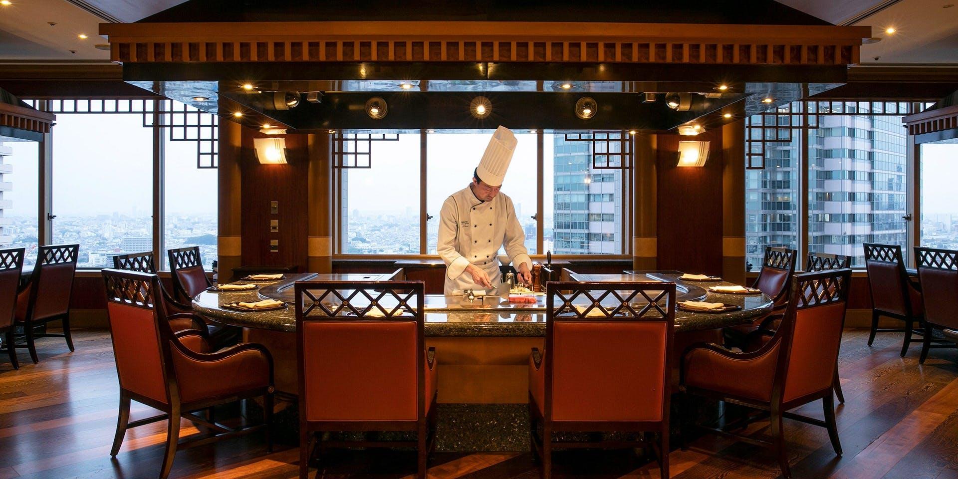 記念日におすすめのレストラン・鉄板焼 恵比寿/ウェスティンホテル東京の写真1
