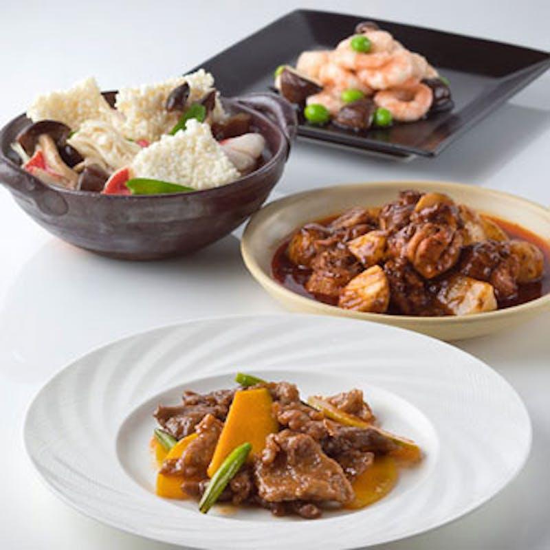 福~冷前菜盛りやスープなど本格四川料理をご堪能全8品~+1ドリンク付(5名~個室も選択可)