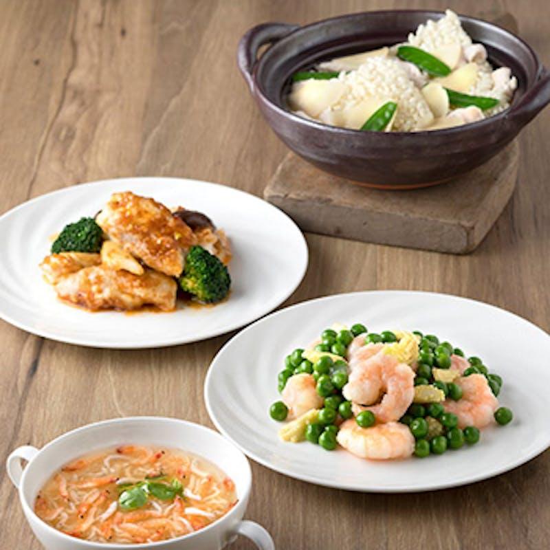 福~冷前菜盛りやスープなど本格四川料理をご堪能全8品~(5名~個室も選択可)