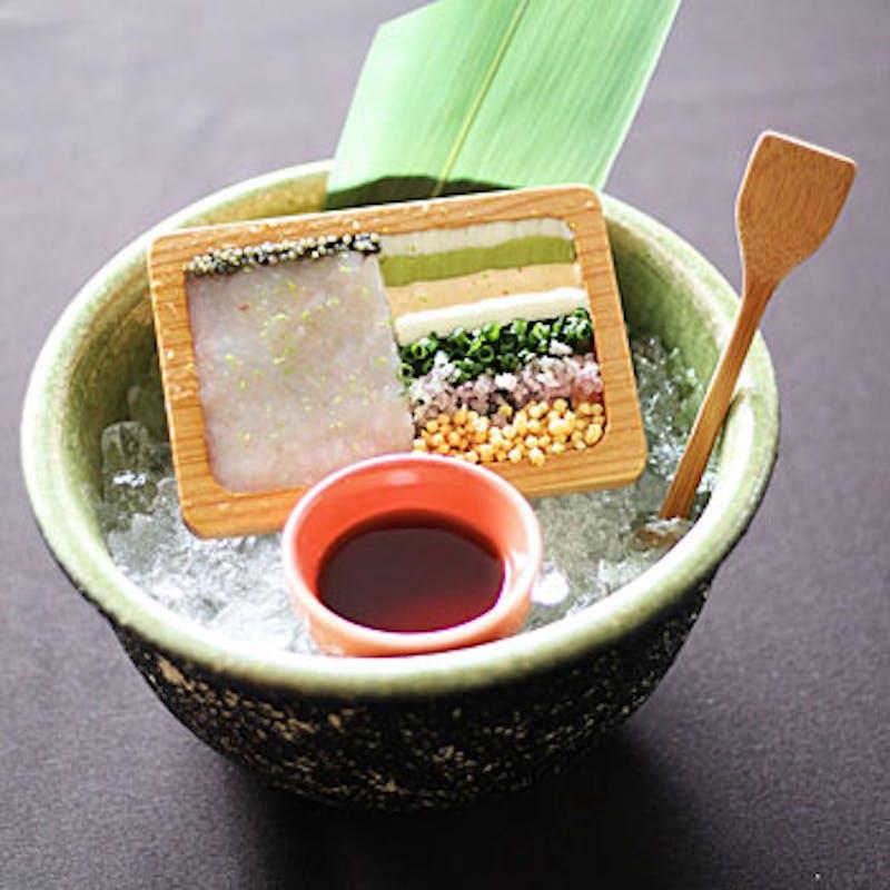 【鉄板焼】甘海老・フォアグラ・魚介等 全7品+乾杯ドリンク+デザート&カフェ
