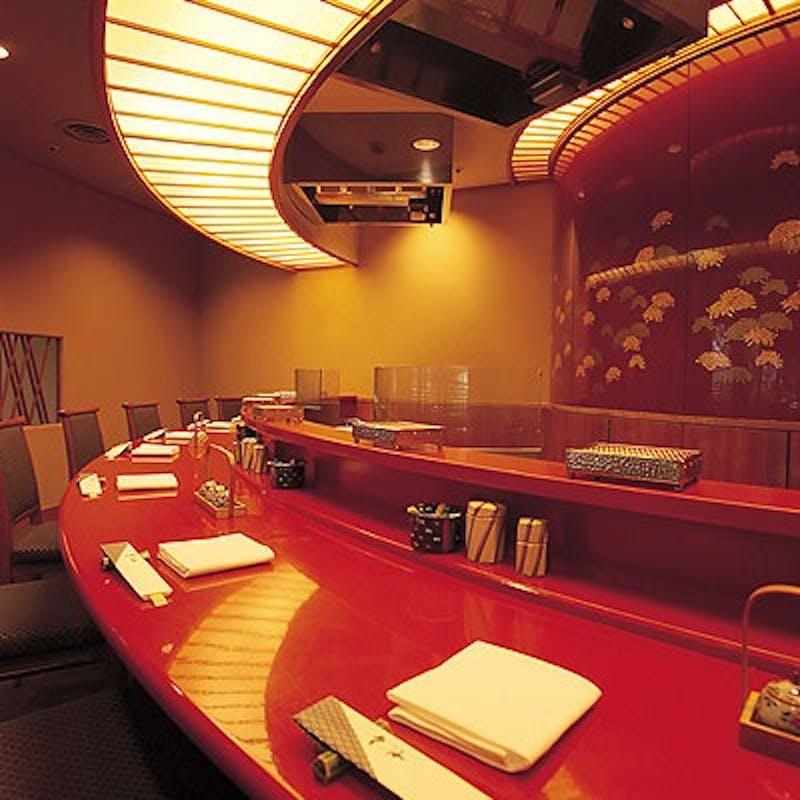 【お昼の天ぷらコース~花~】8種の天ぷらなど全6品+選べる乾杯ドリンク(天ぷら専用カウンター確約)