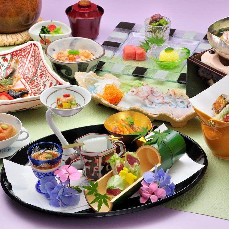 【四季の楽膳 匠】選べる造り、野菜、主菜、食事など全7品(窓側確約)